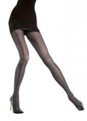 Fiore 40 Den Şık Ve Zarif Desenli Melanj Mikrofiber Külotlu Çorap