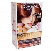 Loreal 4.54 Koyu Akaju Kahve Excellence Creme Saç Boyası
