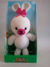 Damla Oyuncak Tavşan Amigurumi Örgü Oyuncak Peluş Oyuncak