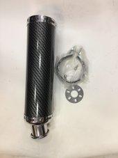 Scoter 150 Egzoz Karbon Alüminyum Performans