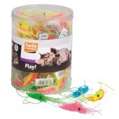 Karlie Kedi Oyuncaği Plastik Karides 6cm 60li