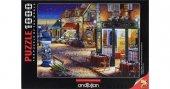 1000 Parça Puzzle Yapboz 48x66 3164 Paris Eyfel Yıldızlı Gece