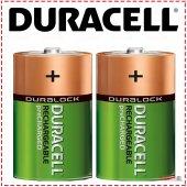 Duracell (Ultra) C Orta Boy Şarj Edilebilir Pil 30...
