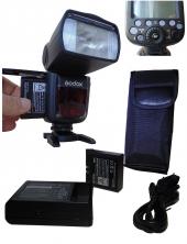 Lion Bataryalı Godox V860ıı Nikon D5500 İçin Flaş...