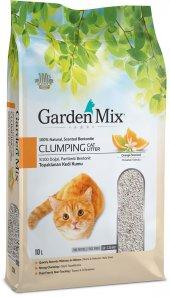 Gardenmix Portakallı Bentonit Topaklanan Kedi Kumu 10 Lt