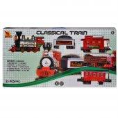 Klasik Tren Seti Sesli Ve Işıklı 35 Parça 1555