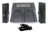 Sony Mc1500 İçin Dp Np F970 İkili Şarj Aleti