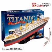 Titanik Büyük 3d Puzzle