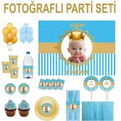 Doğum Günü Küçük Prens Parti Seti 8 Kişilik