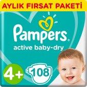 Prima Bebek Bezi 4+ Beden Aylık Fırsat Paketi 108 Adet