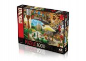 Ks Puzzle 1000 Parça Barcelona View From Courtyard 11389