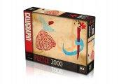 Ks Puzzle 2000 Parça Vav Elif Semazen 22503