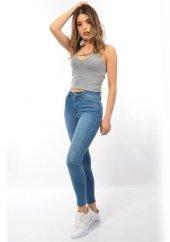 Starlife 1451 Kadın Açık Mavi Dar Paça Kot Pantolon