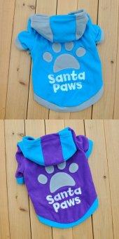 Kedi Ve Köpek İçin Polarlı Santa Pawselbise,kıyafet, Xs S M L