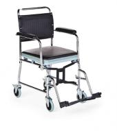 Ky689 Tuvaletli Katlanır Tekerlekli Sandalye Comfo...
