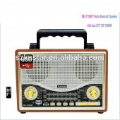 Kemai Md 1706bt Bluetooth Usb Sd Fm Nostaljik Radyo