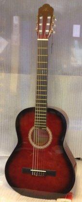 Barcelona Lc 3600 Rds 3 4 Kırmızıburst Junior Klasik Gitar