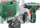 Bosch Easy Drill 12 2 Akülü Delme Vidalama Makinesi 2,5 Ah (Çift Akü)