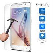 Samsung Galaxy On7 Kırılmaz Cam Ekran Koruyucu