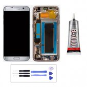 Samsung Galaxy S7 Edge G930 Lcd Ekran + Montaj Seti