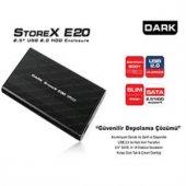 Dark 2.5 Dk Ac Dse20 Sata Usb 2.0 Aluminyum Harddisk Kutusu
