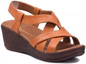 Mammamia D19ys 1670 Taba Bayan Ayakkabı Terlik Sandalet