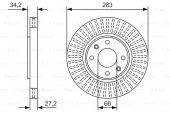 Citroen Ds4 1.6 Hdi 2011 2017 Bosch Ön Disk 2 Adet