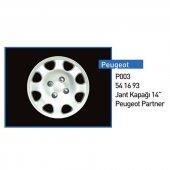 Jant Kapagı 14 (Partner Peugeot) 206 Ve Partner 5416.93