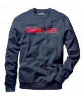 Tshirthane Rainbow 6 Siege Erkek Uzun Kollu Sweatshirt
