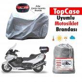 Sym Gts 250 Arka Çanta Uyumlu Motosiklet Brandası ...