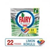 Fairy Platinum Plus 22 Yıkama Bulaşık Makinesi Deterjanı Kapsülü