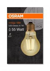 Osram Vintage 1906 Led Classıc A Gold 55watt Non Dim 7w 825 E27