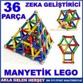 3 Boyutlu Mıknatıslı Metal Lego,3d Yapılandırma Lego Seti 37 Parç
