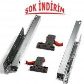 Samet Smart Slide Full Tam Açılım Frenli Ray 350 M...