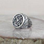 Erzurum Kalem İşçilikli Gümüş Yüzük