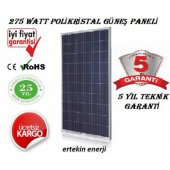 275 Watt Polikristal Güneş Paneli A Sınıfı Hücre Y...