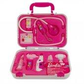 Barbie Çantalı 9 Parça Işıklı Doktor Oyun Seti