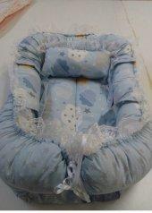Babynest Bebek Uyku Yatağı Ve Yastığı 100 Pamuk