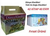 Dünya Klasikleri 1 İle Türk Ve Doğu Klasikleri Seti 42 Kitap