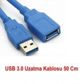Usb 3.0 Uzatma Kablosu 0.5m Uzatıcı 50 Cm Bst 2081p Dişi Erkek Ek