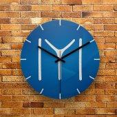 Fmc1225 Tasarımlı Mdf Ahşap Duvar Saati 39cm
