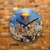Fmc1190 Tasarımlı Mdf Ahşap Duvar Saati 39cm