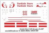 Dbt01027 1 72 C 130 Hercules Türk Yıldızları Decal