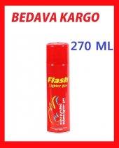 ücretsiz Kargo Flash Çakmak Gazı 270 Ml