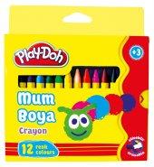 Play Doh 12 Renk Crayon Pastel Boya Karton Kutu 8mm Play Cr004