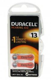 Duracell Activair 13 Kulaklık Pili 6 Lı