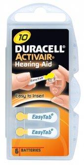 Duracell Activair 10 Kulaklık Cihazı Pili 6 Lı