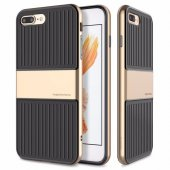 Iphone 7 Plus Kılıf Traveler Koruma Kapak Gold