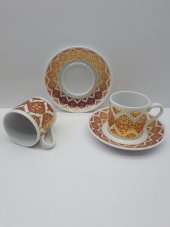 Kahve Fincanı Takımı 6 Kişilik