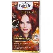 Palette Deluxe 7 887 Ateş Kızılı Saç Boyası
